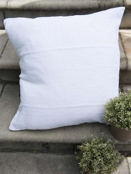 Linen Cushion Cover - White