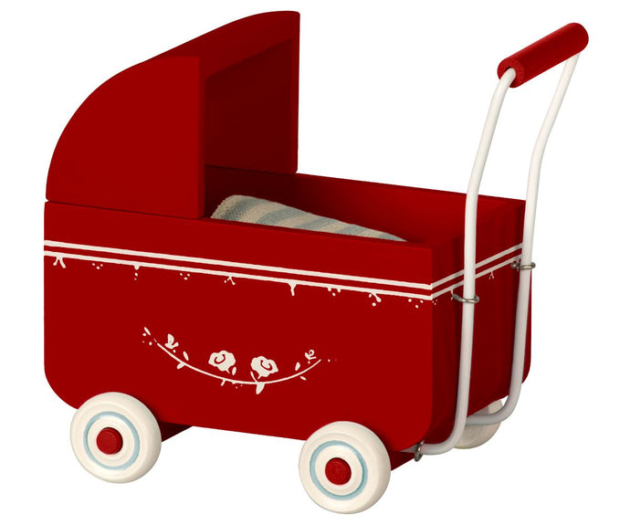 Maileg Pram MY Red