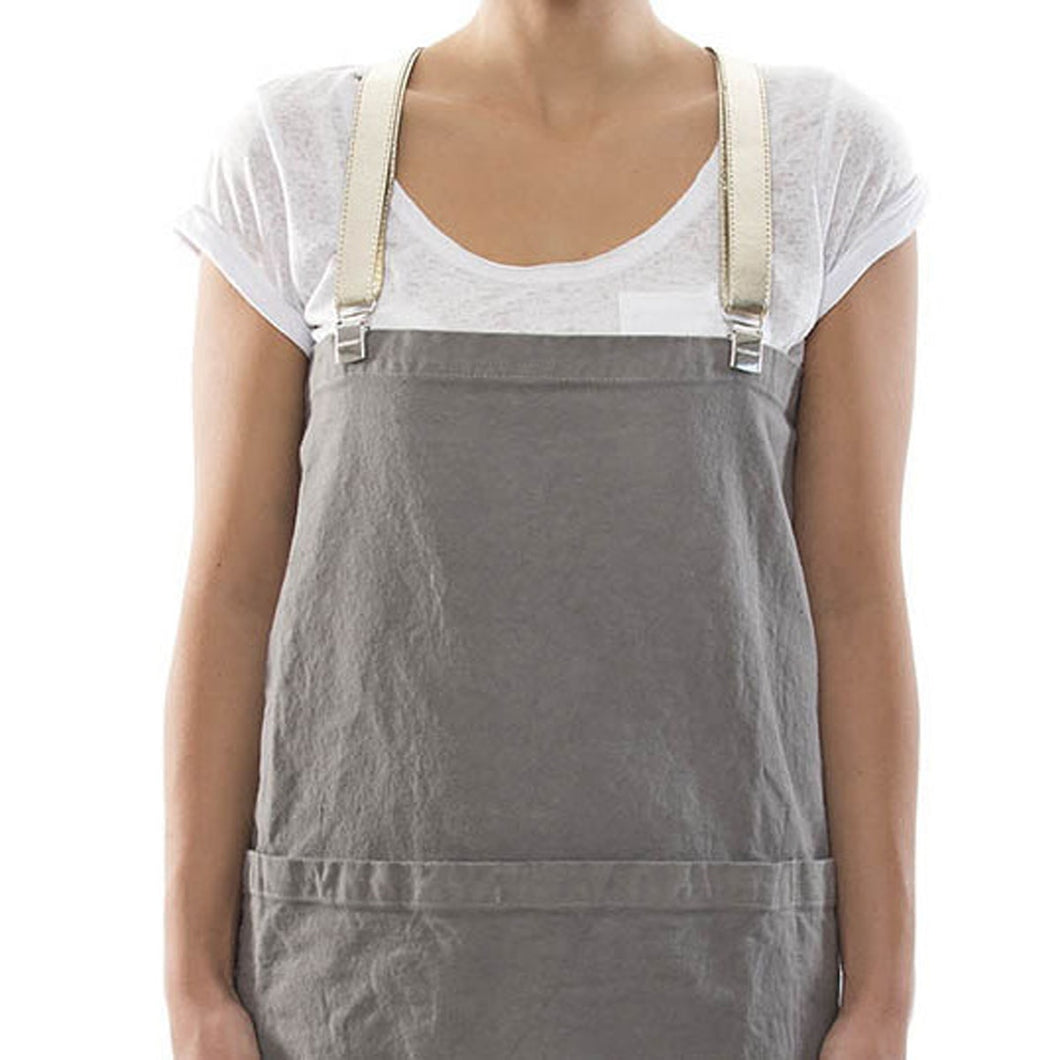 Uashmama Apron Dark Grey