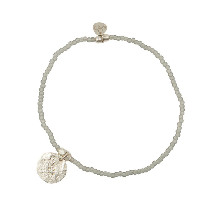 A Beautiful Story Armband 'Wonder Feder Silber'