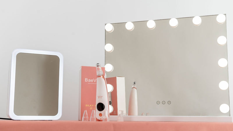 Glamour Bundle - Vanity Mirror, Beauty Fridge & Pore Vacuum