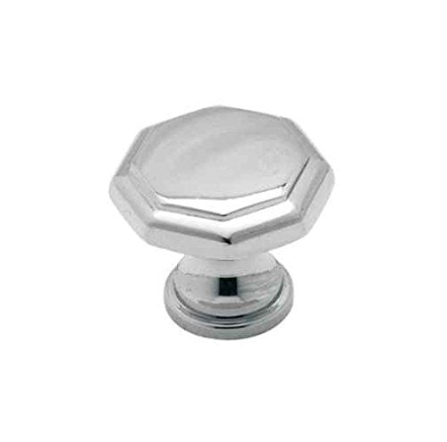Allison Round Drawer Knob in Polished Chrome Finish