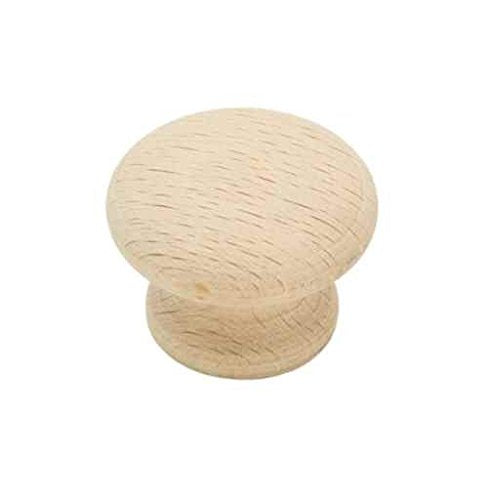 Allison Drawer Knob in Natural Finish