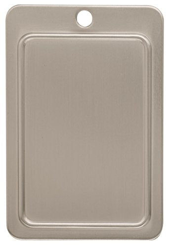 Amerock BP875G10 Backplates 3 in (76 mm) Center-to-Center Satin Nickel Cabinet