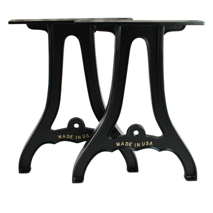 "(2) 34"" Cast Aluminum Table Legs"
