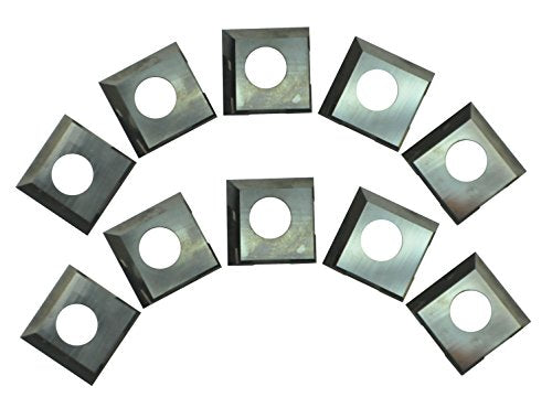 RIKON Power Tools 25-499 HSS 2-Edge Inserts for 25-130H Planer, 10-Pack