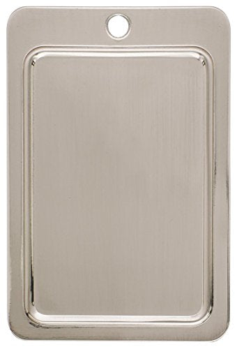 Amerock BP1304G9 Backplates 4-5/16 in (110 mm) Length Sterling Nickel Cabinet