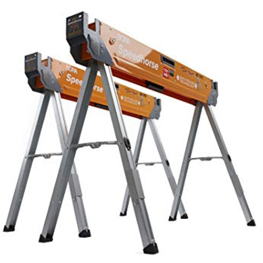 Bora Portamate Speedhorse Sawhorse Pair– Two Pack