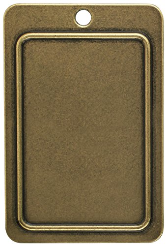 Amerock BP1304O77 Backplates 4-5/16 in (110 mm) Length Burnished Brass Cabinet