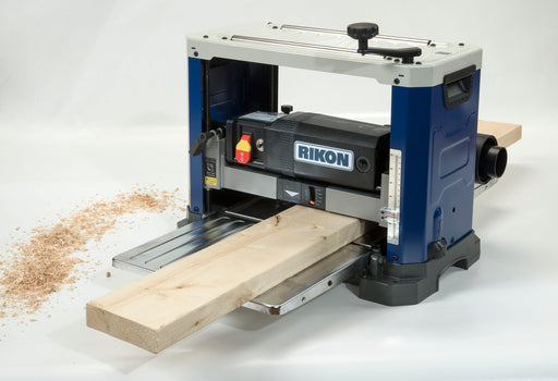 Rikon 25-135H 13-Inch Planer with Helical Cutterhead