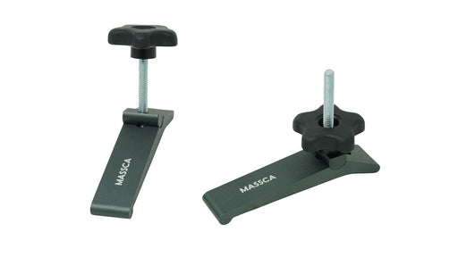 "Massca Hold-Down Clamp Heavy Duty Made from Strong High-Grade Carbon Steel for Home & Workshop Use | 5-1/2"" L x 1-1/8"""
