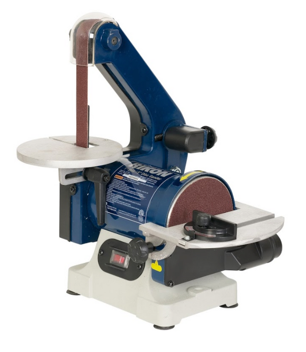 "RIKON 50-151 Belt with 5"" Disc Sander, 1"" x 30"""