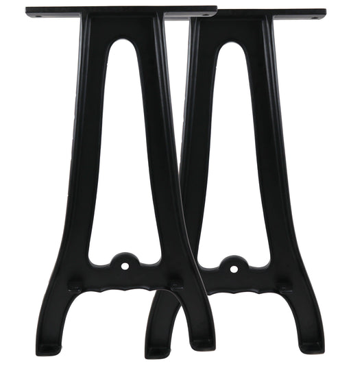 "Set of (2) 28"" Cast Aluminum Table Legs"