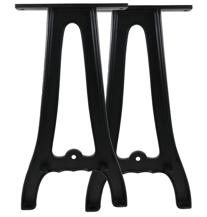 "Set of (2) 28"" Cast Aluminum Sofa Table Legs"