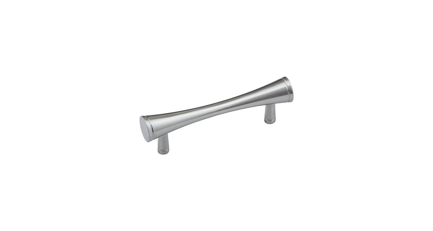 Sleek & Modern Satin Nickel Finish Door Pull/Knob or Drawer Pull/Knob Desk cupboard dresser hutch hardware K400-SN