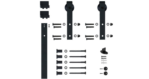 Mini Sliding Barn Door Hardware kit for furniture