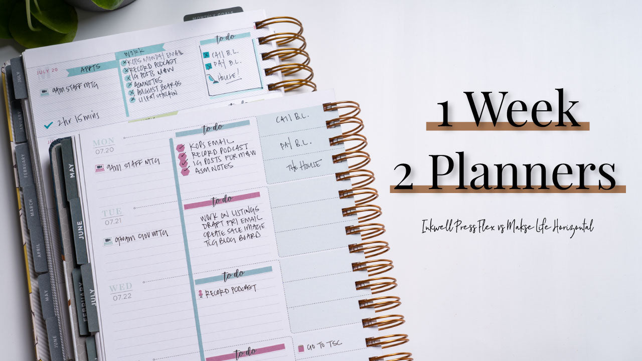 IWP Flex vs ML Horizontal | 2 Planners 1 Week
