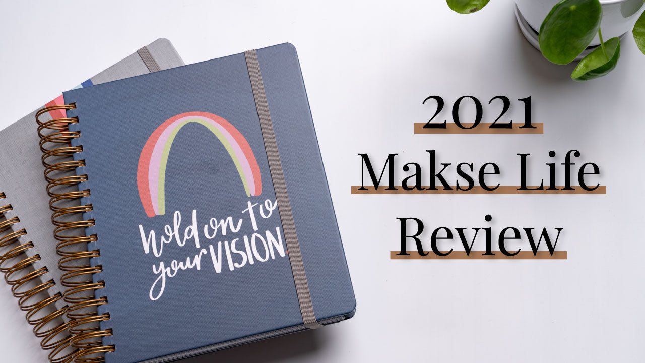 2021 Makse Life Planner Unboxing, First Impressions & 2020 Comparison
