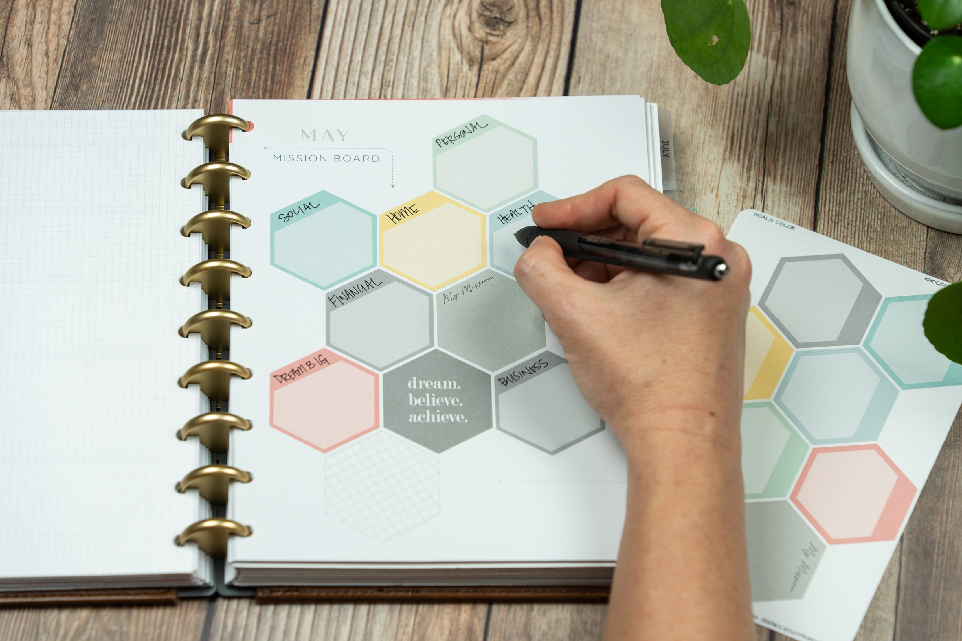 Optimizing Your Planner for Goal Setting | The Goal Getter Collection | New Releases