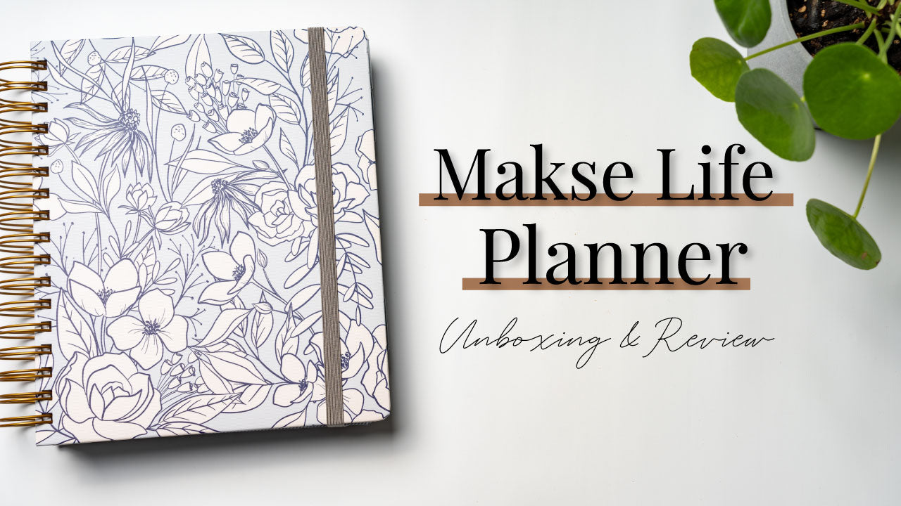 Makse Life planner Unboxing & Review