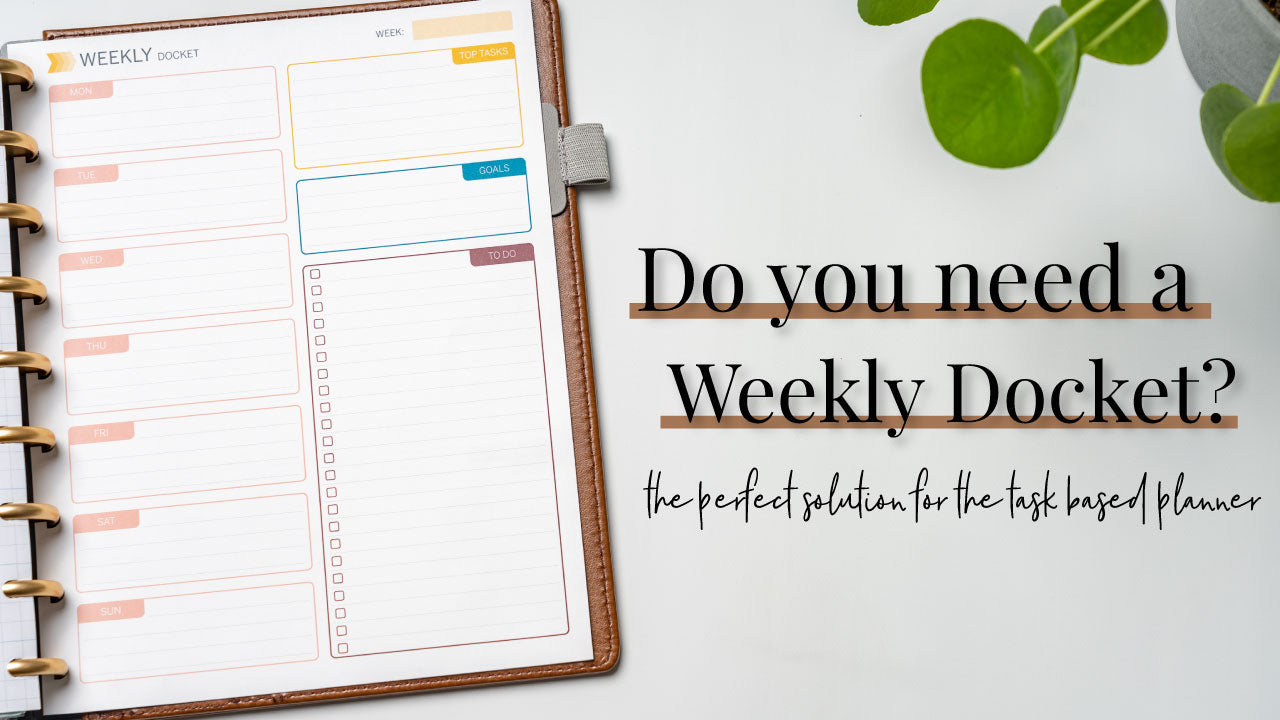 Do you need a Weekly Docket?