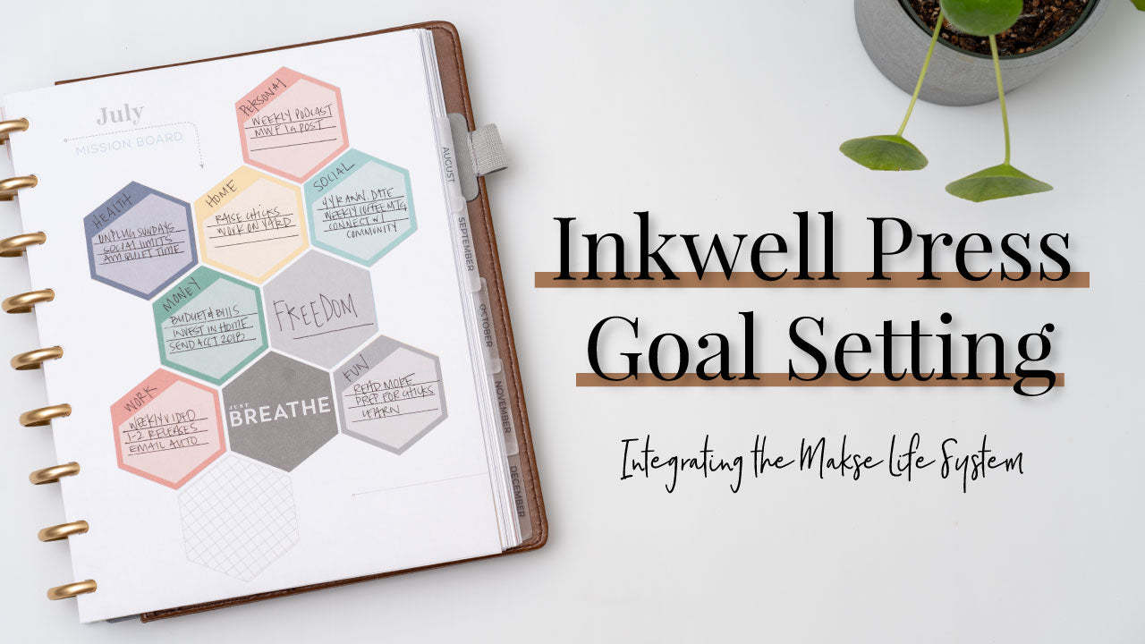 Goal Setting in Your Inkwell Press Planner