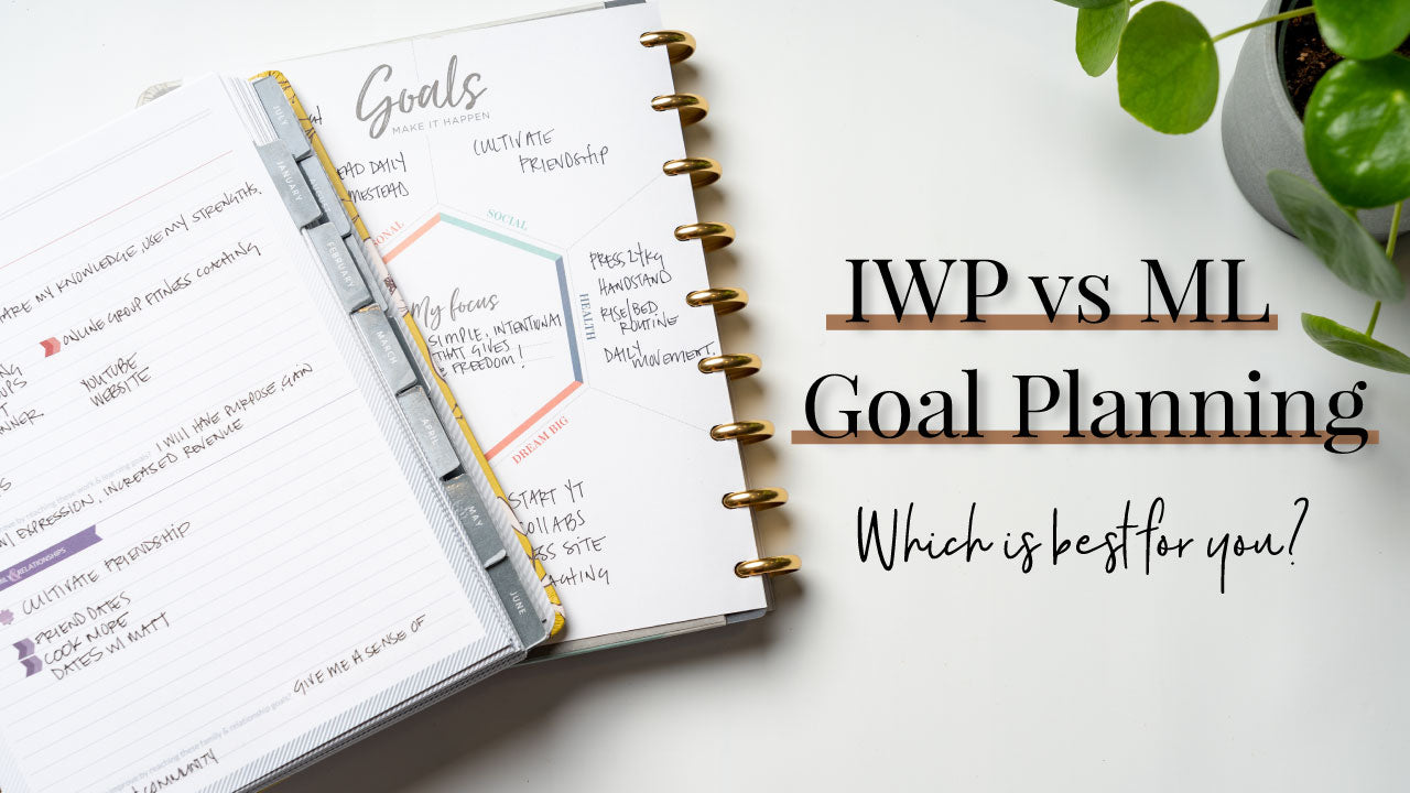 Makse Life vs Inkwell Press Weekly Goal Planning