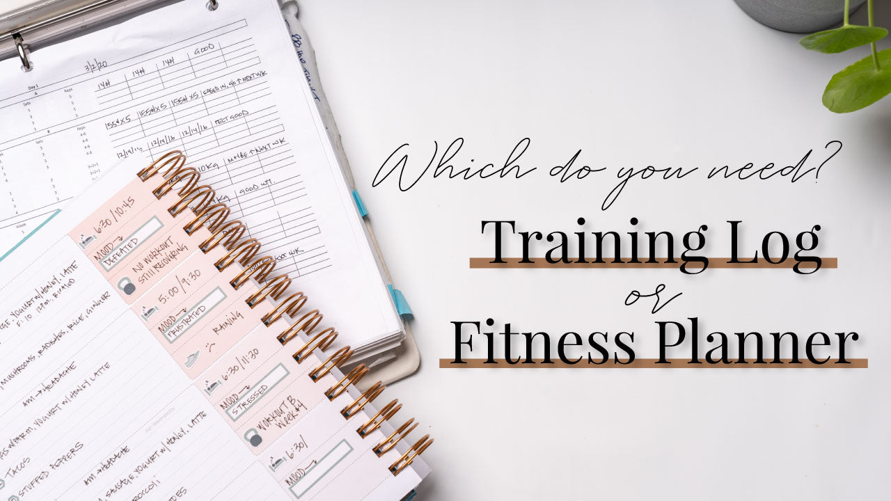 Training Log vs Fitness Planner