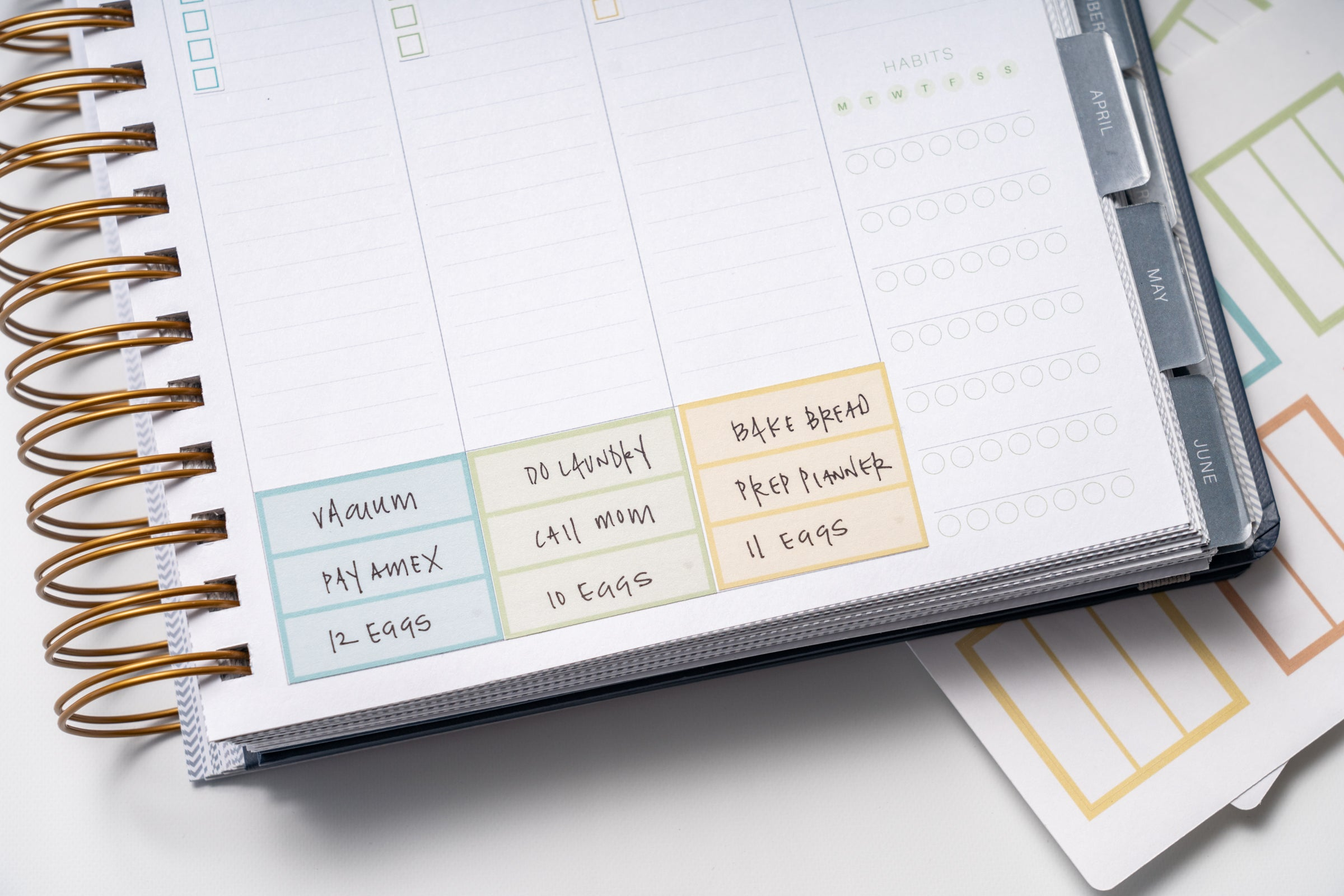 Knockout Print Shop Makse Life Functional Planner Stickers
