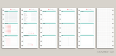 Daily Docket PRINTED Planner Inserts for 2019 inkWELL Press Planners