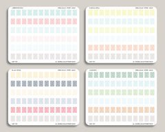 Envelope Icon Planner Stickers for 2019 inkWELL Press Planners IWP-T115