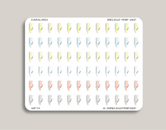 Shoe Icon Planner Stickers for 2019 inkWELL Press IWP-T13