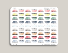 Book Icon Planner Stickers for 2019 inkWELL Press IWP-T26