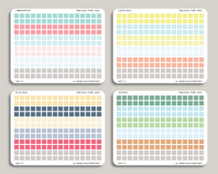 Square Checkbox Planner Stickers for 2019 inkWELL Press IWP-T27