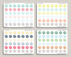 Paw Icon Stickers for 2019 inkWELL Press Planners IWP-T33