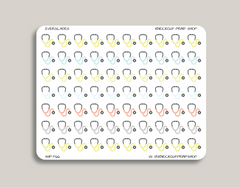 Doctor's Appointment Icon Planner Stickers for 2019 inkWELL Press Planners IWP-T66