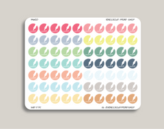 Pen Circle Icon Planner Sticker for 2019 inkWELL Press Planners IWP-T75