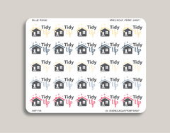 Tidy Up Planner Stickers for 2019 inkWELL Press Planners IWP-T81