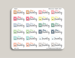 Do Laundry Planner Stickers for 2019 inkWELL Press Planners IWP-T98