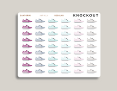 Shoe Icon Planner Stickers for 2021 inkWELL Press IWP-N13