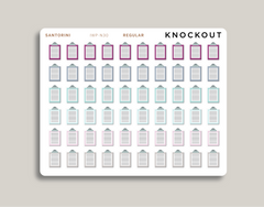 Clipboard Icon Planner Stickers for 2021 inkWELL Press IWP-N30