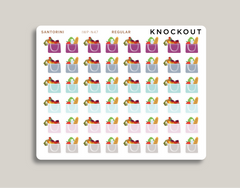 Grocery Bag Icon Planner Sticker for 2021 inkWELL Press Planners IWP-N47