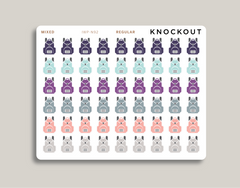 Backpack Icon Planner Stickers for 2021 inkWELL Press Planners IWP-N92