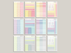 Vertical Functional Sampler Kit for MakseLife Planner R1