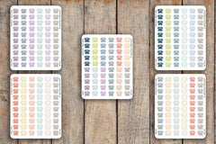 60 Phone, Telephone, Call, Important, Callback Icon Planner Stickers for 2018 inkWELL Press Planners IWP-Q76