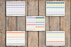 60 Birthday, Gift, Present Hexagon Planner Stickers for 2018 inkWELL Press Planners IWP-Q13