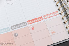70 Trash Icon, Garbage Can, Trash Day Icon Planner Sticker for 2018 inkWELL Press Planners IWP-Q66