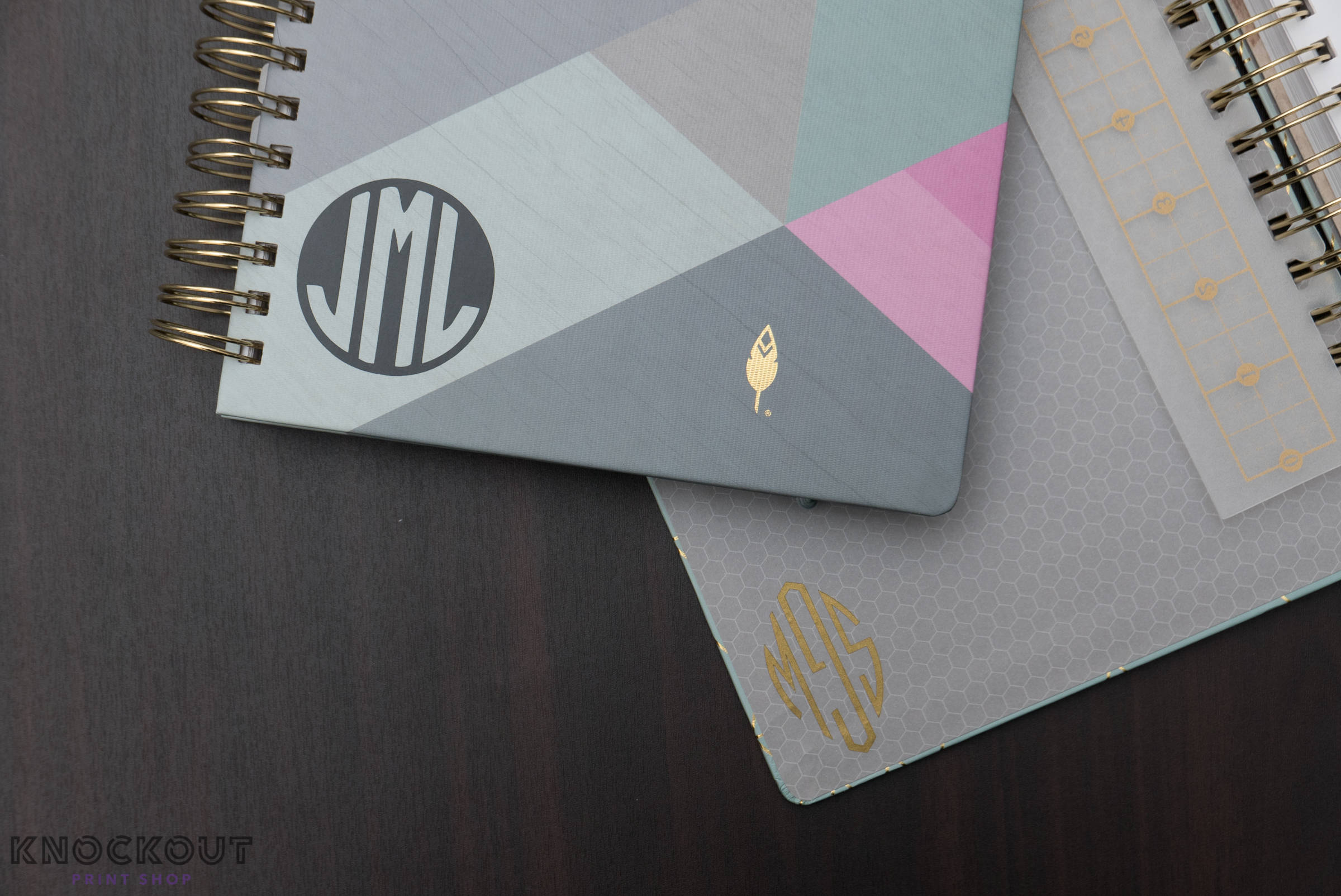 CUSTOM Vinyl Initial Monogram Decal for 2018 inkWELL Press Planner, Erin Condren Planners
