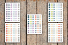 60 Meal Plan, Dinner Time, Lunch Time, Lunch Bag, Food Prep Icon Planner Stickers for 2018 inkWELL Press Planners IWP-Q127