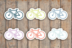 54 Bike, Road Bike, Bicycle, Fitness, Cycling, Spin Icon Planner Stickers for 2018 inkWELL Press Planners IWP-Q157